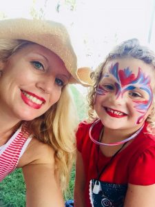 Key West Face Painting Casa Marina 4th of July Key West CrazyFaces FacePainitng and Body Ar