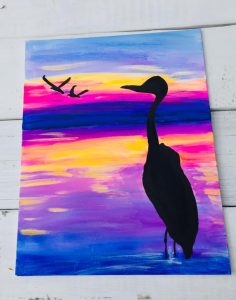 Sip and Paint in Key West, Florida- Paint on Canvas  with Key West Artist Jennifer Montgomery