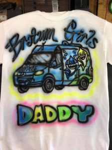 Airbrush T-shirts kids parties Key West Philadelphia Miami www.jennifermontgomery.net 610.764.0853