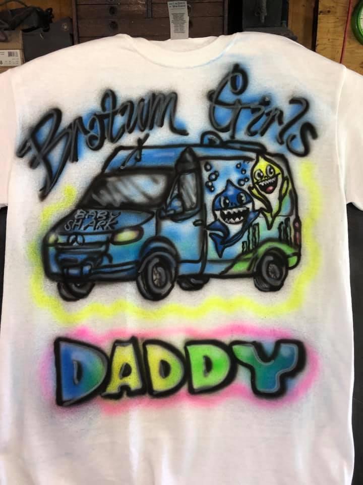 Airbrush T-shirts kids parties Key West Philadelphia Miami www.jennifermontgomery.net 610.764.0853