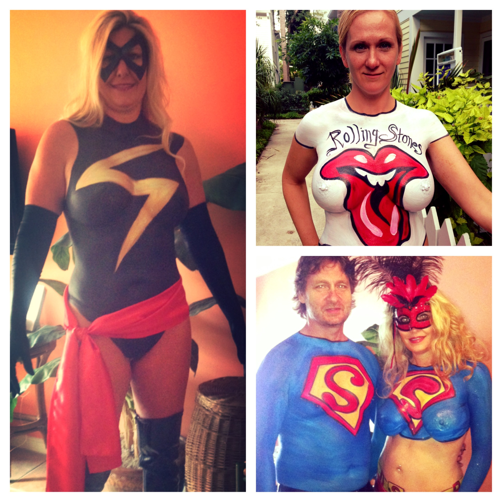 Book the BEST Body Painter in Key West !! Call 610.764.0853