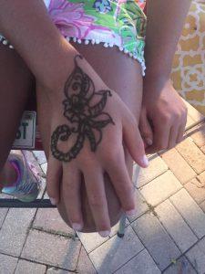 Key West Henna Artist Jennifer Montgomery of CrazyFaces Face Painting and Body Art Philadelphia Key West 610.764.0853