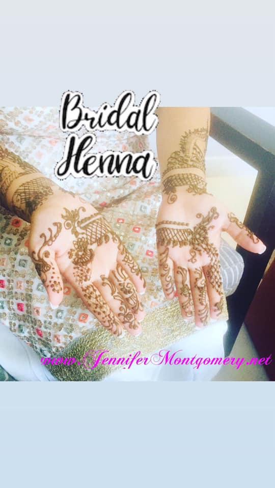 Bridal Henna Key West Wedding 2021