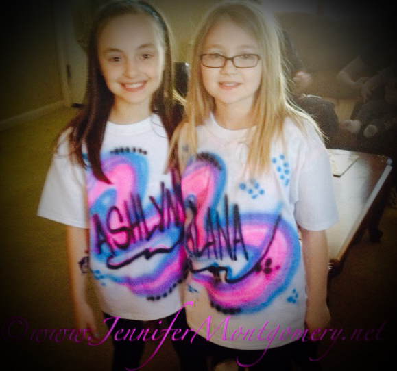 Airbrush Tshirts Birthday Parties Bat Mitzvahs Philadelphia PA