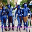 Avatar Body Painting Key West Fantasy Fest