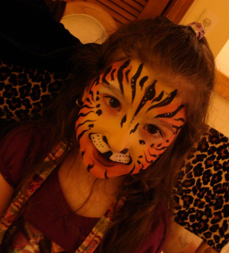 Cat Face Painting Jennifer Montgomery CrazyFaces Face Painting Philadelphia PA