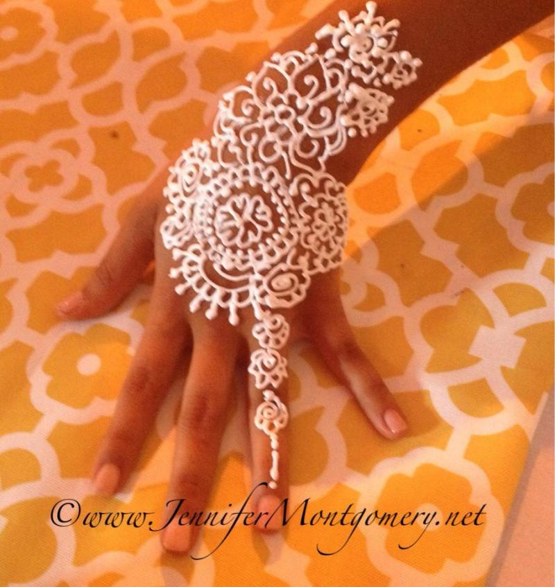 White Henna Philadelphia and Key West Henna Artist Jennifer Montgomery