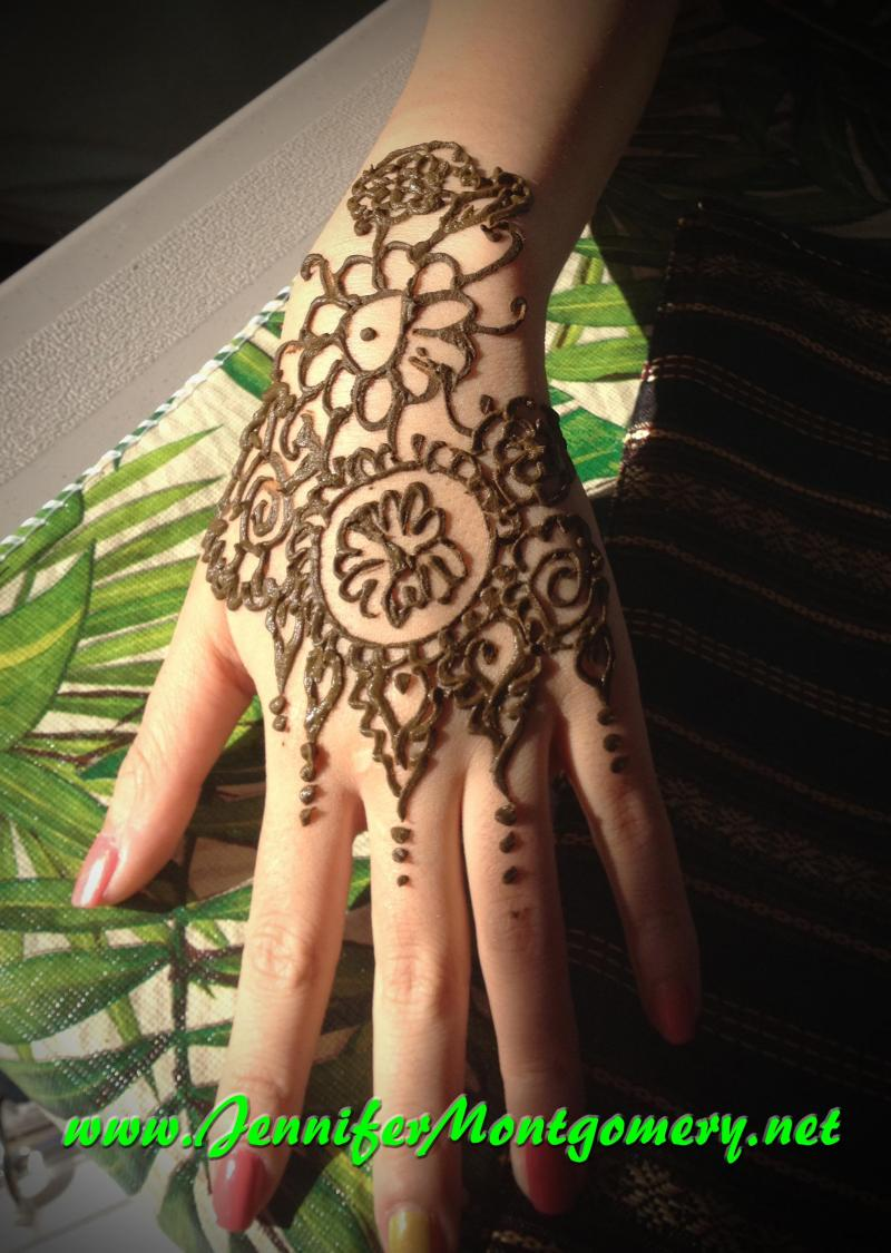 Henna Body Art Philadelphia and Key West FL Henna Artist Jennifer Montgomery