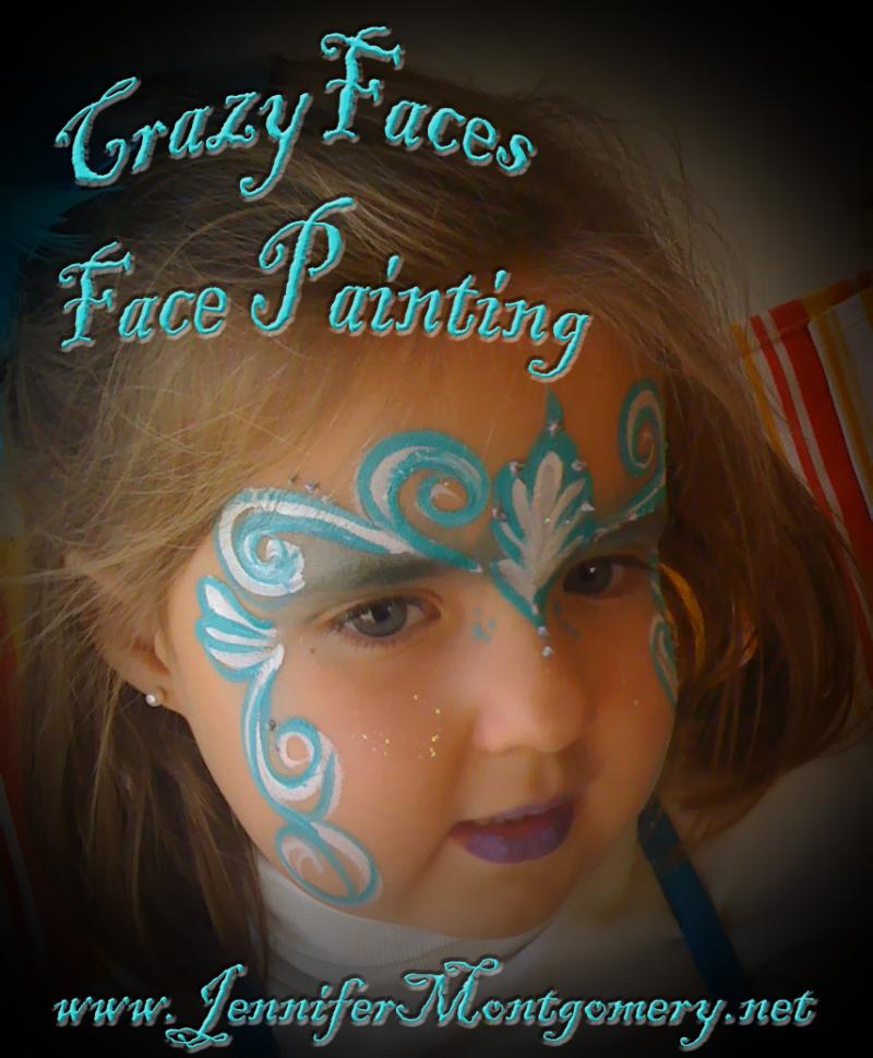 Birthday Party Face Painting Delaware County PA CrazyFaces Face Painting