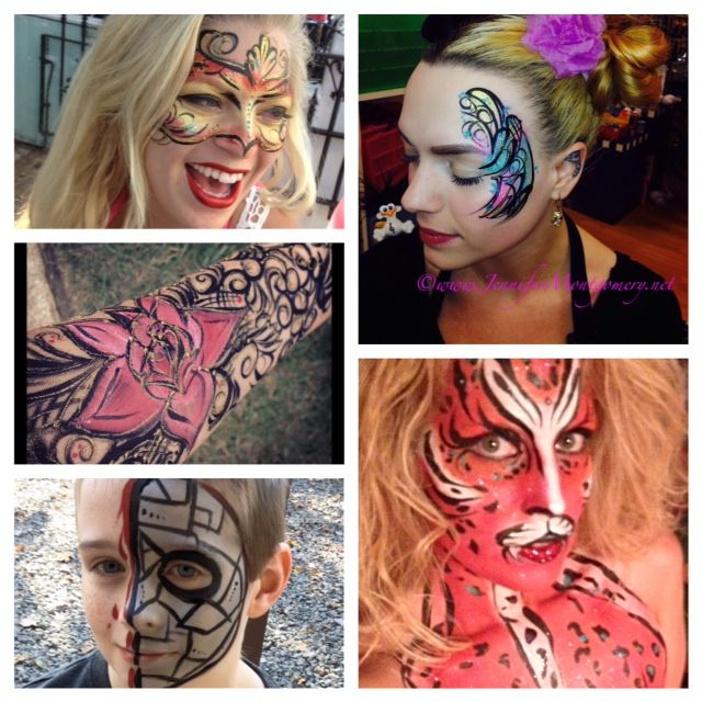 Face Painting Philadelphia Delaware County PA Kids Parties Corporate Events