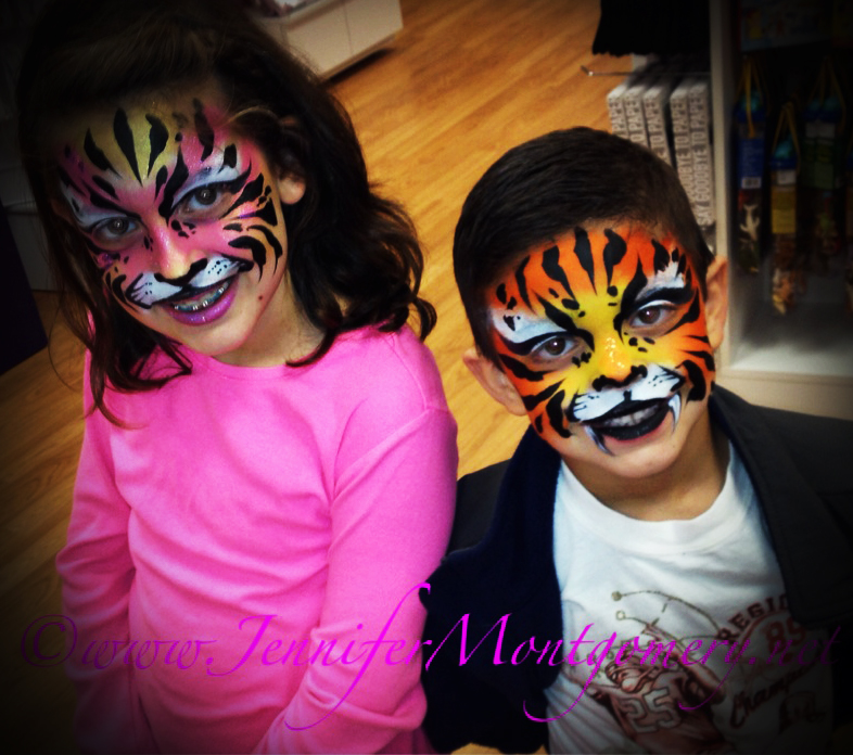Face Painter Philadelphia PA Kids Birthday Parties CrazyFaces Face Painting